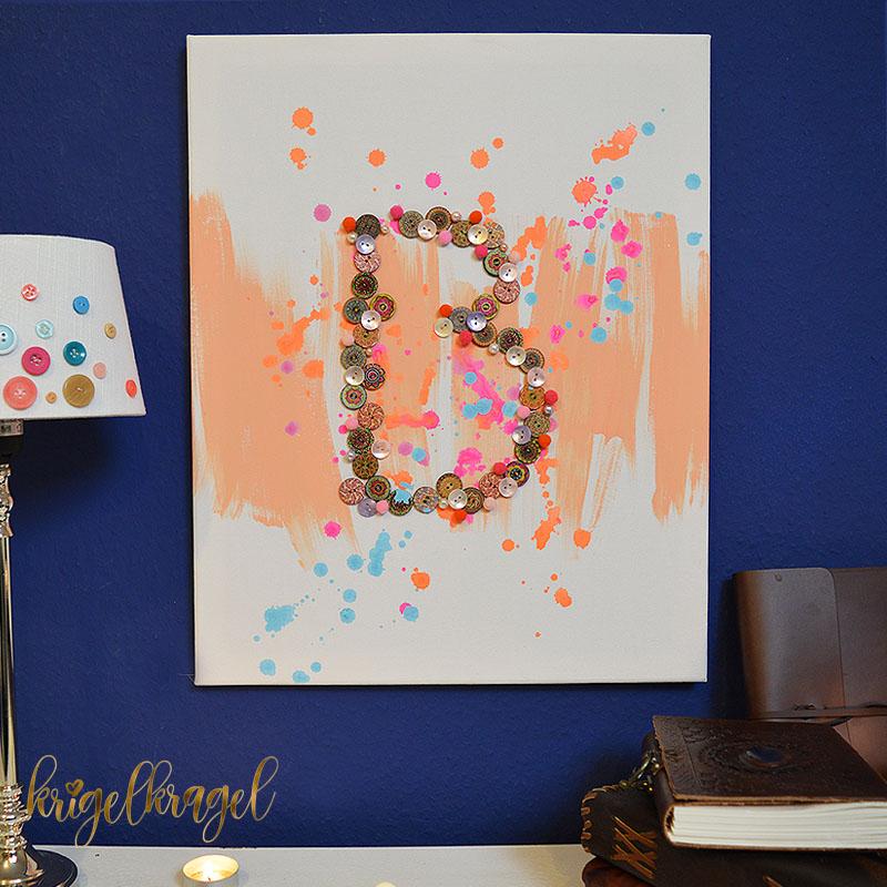 5 ideen f r ein geschenk aus leinwand krigelkragel. Black Bedroom Furniture Sets. Home Design Ideas