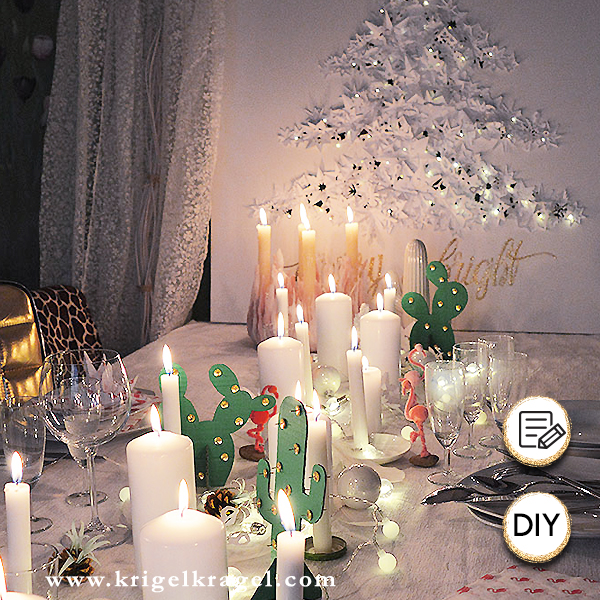 Dekoidee für eine weihnachtliche Festtafel. Hier kannst du weihnachtliche Inspiration für deine Deko zu Weihnachten finden. Ich zeige dir wie ich meinen Tisch für das Weihnachtsessen dekoriert habe. Die einzelnen Dekoideen kannst du ganz leicht selber machen. #weihnachtstafel #festtafel #weihnachtsdeko #winterdeko #weihnachtsessen