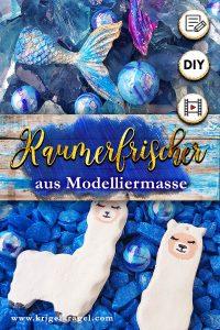 Diy Raumerfrischer Aus Modelliermasse Malen Und Bastelndiy Room