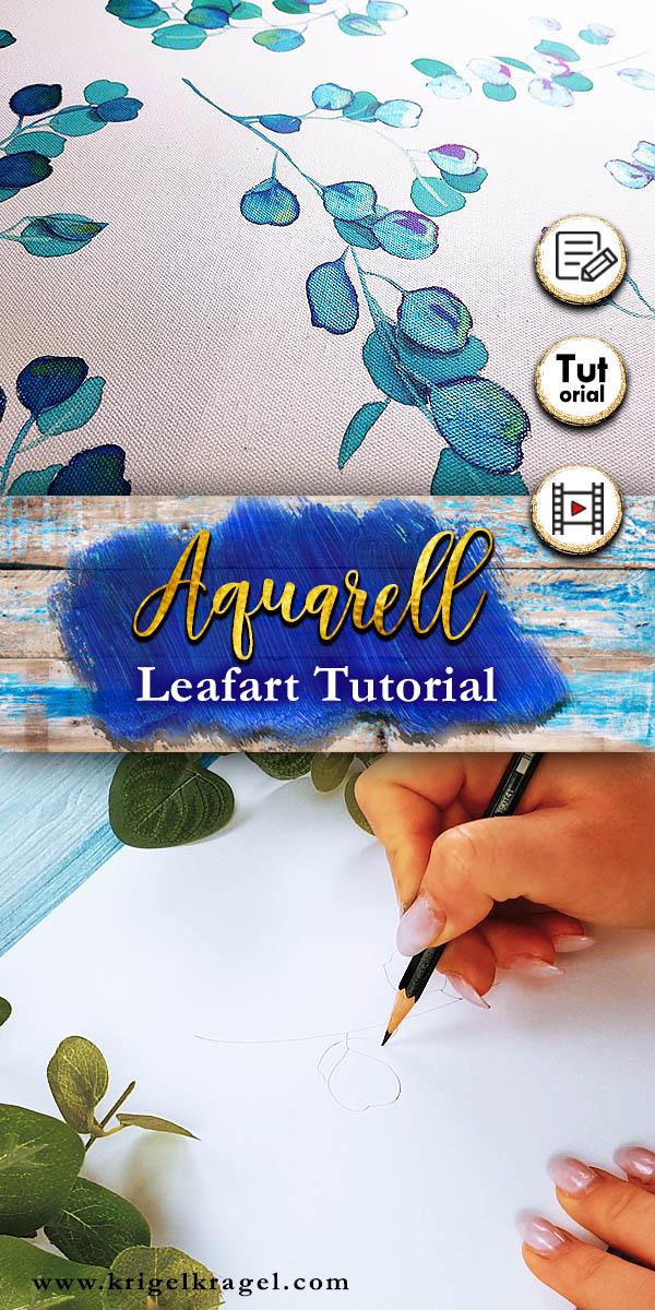 krigelkragel_aquarell_Tinte_leafart_tutorial_1