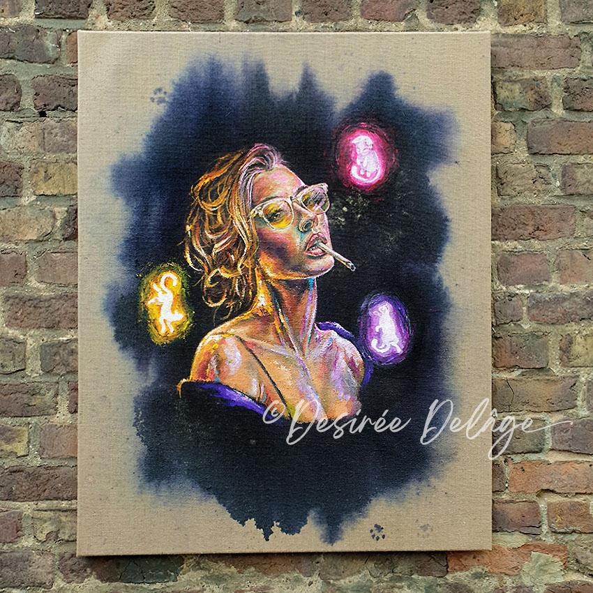 Kunst von Desiree Delage kaufen The Catlover 1