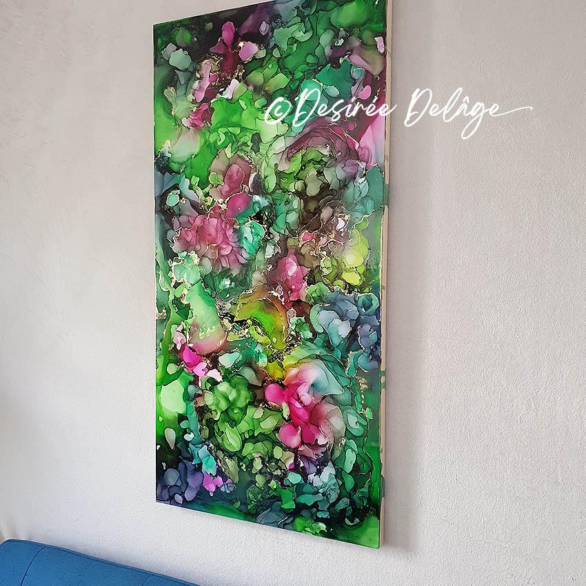 abstrakte Kunst von Desiree Delage kaufen Alcoholinkart