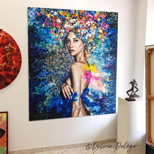 Malerei Kunstwerk von Desiree Delage