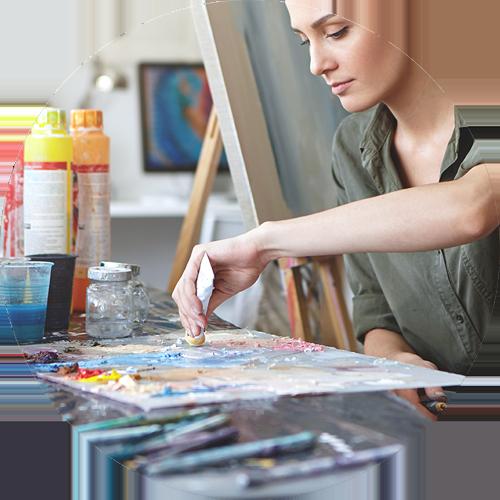 Malen lernen mit Online Kursen von Desiree Delage
