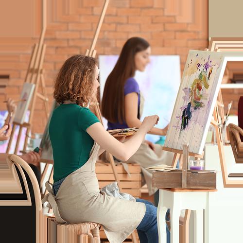 Das Art Studio Desiree Delage veranstaltet Malerei-Workshops und Seminare