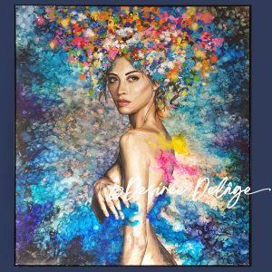 Acrylic & Oil