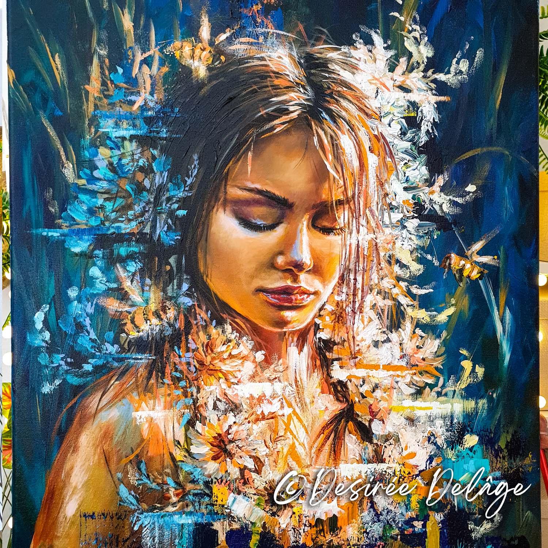 Demeter Gemälde von Desiree Delage 3