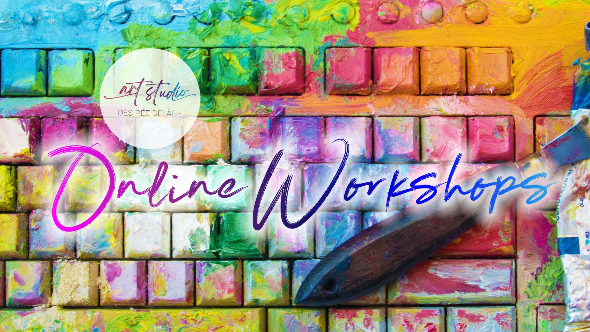 onlie Workshops zeichnen und Malen desiree delage krigelkragel
